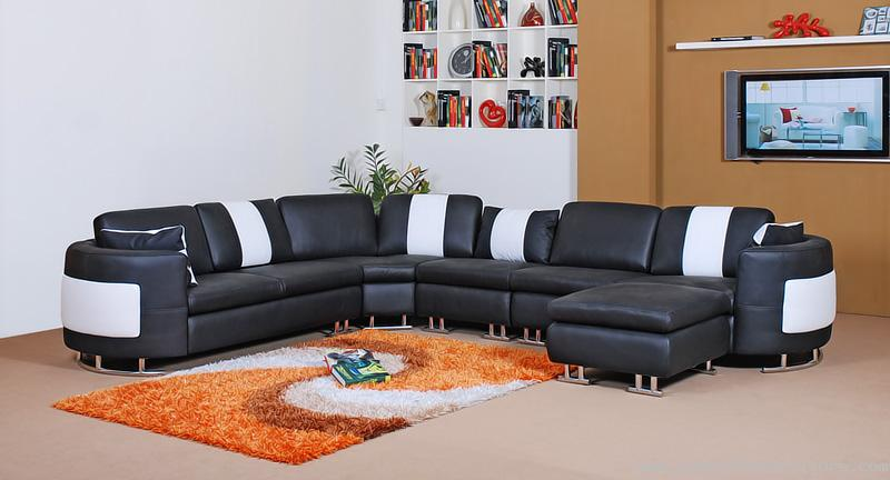Modern leather sofa sets designs[1].